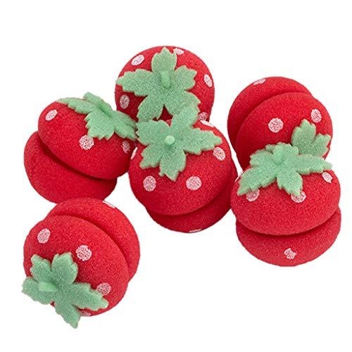 DAmeng Sponge Curly Ball Sponge Ball Hair Styler Curler Roller For Lady Hair Care Round Curl 6pcs (C)