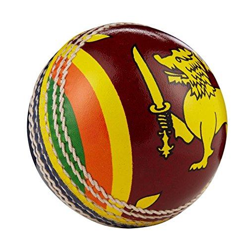 Hunts County Cricket-Ball mit internationaler Flagge, Sri Lanka