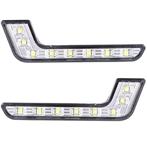 XCSOURCE 2x Car Daytime Running DRL Bright Driving Day Light Head Lamp 8...