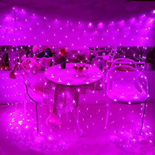 YXNN LED Luce Natalizia Net, Resistente E Impermeabile della Luce della Stringa 960 LED 20ft X 13ft Plug in Scintillio Si Illumina 8 modalità Xmas Trees Cespugli Wedding Garden Outdoor Indoor Decor