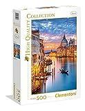 Clementoni- Puzzle 500 Piezas Venecia iluminada (35056.8)
