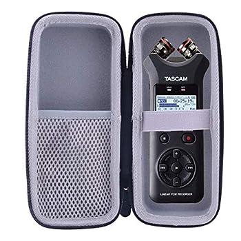 WERJIA Hard EVA Travel Case Fits Tascam DR-07X Portable Digital Recorder