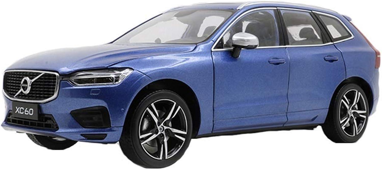 Ven a elegir tu propio estilo deportivo. Maisto 1 18 Volvo 2018 Nuevo Modelo Modelo Modelo de Coche XC60 Simulación de aleación Colección súper Running Model Modelos Escala Vehículos ( Color   azul )  mejor opcion