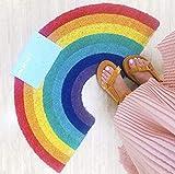 Rainbow Doormat, Premium Door Mat for Entrance Areas Doormat in Various Sizes - Door Scraper for Front Door Inside and Out (41 x 75 cm)