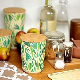 Decorative Pot or Storage Box Bamboo Composite Daisy (Large)