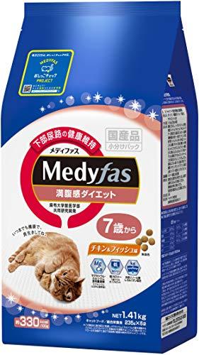 メディファス満腹感ダイエット7歳からチキン&フィッシュ味1.41kg(235gx6)