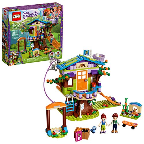 LEGO Friends Mia's Tree House 41335 Creative Building Toy Set for Kids, Best Learning and Roleplay Gift for Girls and Boys (351 Pieces)