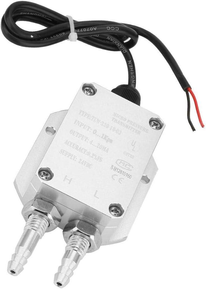 centrale /électrique climatisation et autres environnements 0~1Kpa Capteur de pression diff/érentielle micro transmetteur de pression diff/érentielle 4-20mA pour traitement m/édical