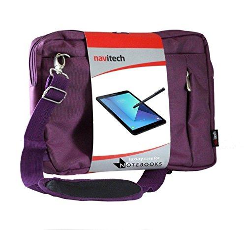 Navitech Sac de Transport Violet Ordinateur Compatible avec Huawei MediaPad M2 10.0