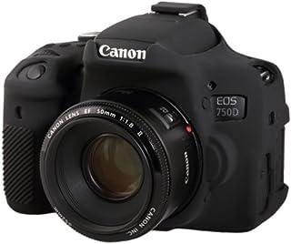 easyCover EA-ECC750DB Case for Canon 750D/T6i (Black)