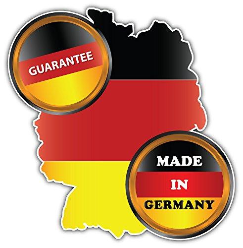 SkyBug Made In Germany Garantie Icon Bumper Sticker Vinyl Art Decal voor Auto Truck Van Window Bike Laptop