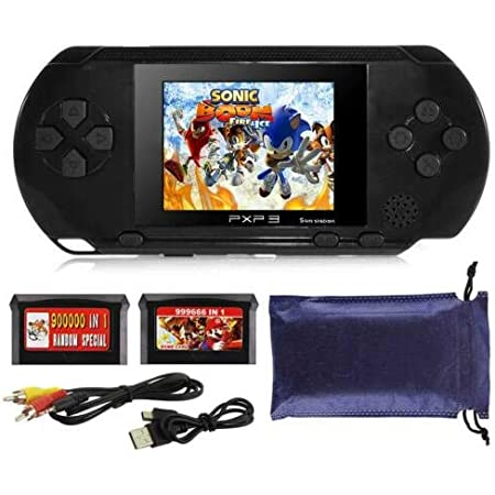 Amazon.com: RONSHIN PXP3 Portable Handheld Built-in Video Game Gaming Console Player Retro Games Black: Electronics