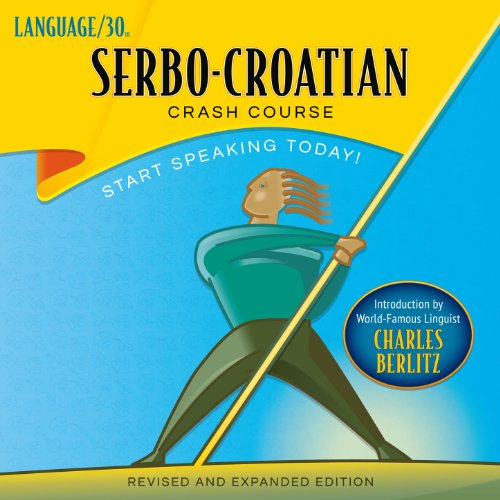 Serbo-Croatian Crash Course audiobook cover art