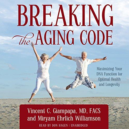 Breaking the Aging Code  Audiolibri