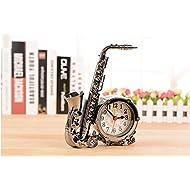Fashion popular furnishing articles bedroom decor kids Gifts cartoon saxophone alarm clock