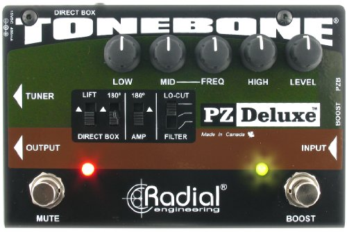 Tonebone PZ-Deluxe Guitar Effects Switcher - Black