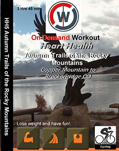 Heart Health Spinning and Indoor Cycling Autumn Trails of the Rocky Mountains DVD