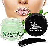 Once Upon a Tea Exfoliating Green Tea Matcha Sugar Lip Scrub
