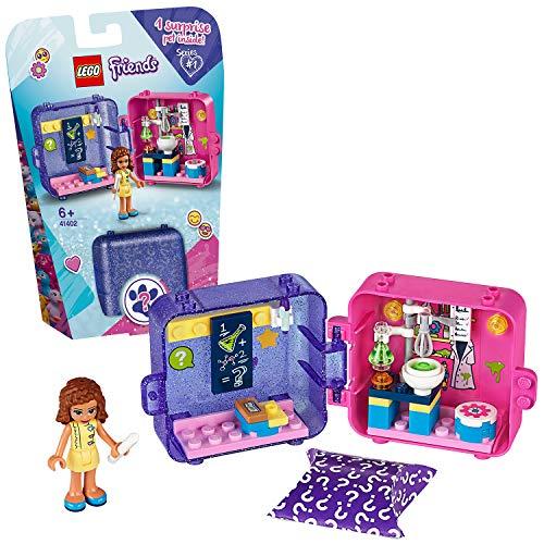 LEGO 41402 Friends Olivias magischer Würfel, Sammlerbauset, Mini-Spielset, tragbares Spielzeug für unterwegs