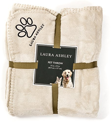 Laura Ashley Pet Throws - Linen