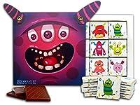 """DA CHOCOLATE キャンディ スーベニア """"氏。 モンスター"""" MR MONSTERS チョコレートセット 5×5一箱 (Purple)"""