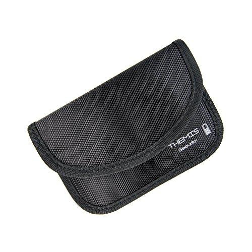 Themis abschirm Security en nylon pour clés de voiture sans fil, Keyless Go Systme, keycards, 2 compartiments, 2 couches haute qualité blindage