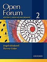 Open Forum Level 2 Student Book (Open Forum 2)