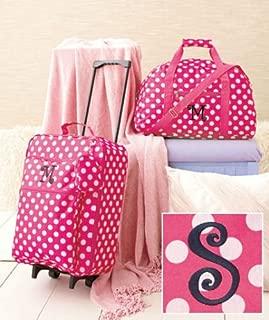 Best girls monogram luggage set Reviews
