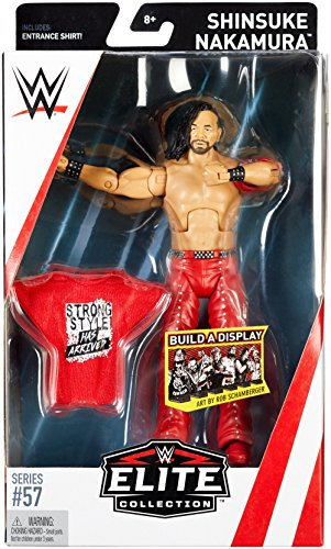 WWE Elite Collection Series # 57 Shinsuke Nakamura Action Figure