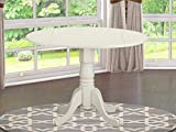 DLT-WHI-TP Round Table with 29' Drop Leaves
