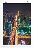 Eau Zone Home Bild - City – Bangkok bei Nacht Thailand-