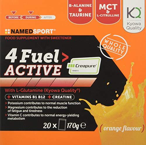 Named Sport 4Fuel Active, 20 Bustine, 170 g