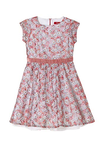 s.Oliver Junior Mädchen 403.10.102.20.200.2062697 Kinderkleid, 37B0, 128