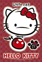 ジグソーパズル プチ ライト ハローキティ 99スモールピース 白猫 (10cm×14.7cm、対応パネル:プチ専用)