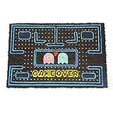 koko doormats felpudos Entrada casa Originales, Fibra de Coco y PVC, Felpudo Exterior Game Over, 40x60x1.5 cm | Alfombra Entrada casa Exterior | Felpudos Divertidos para Puerta
