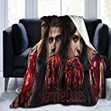 Big Big Beauty The Vampire Di-Aries Ultra-Soft Breathable Flannel Throw Blanket,50'' x40