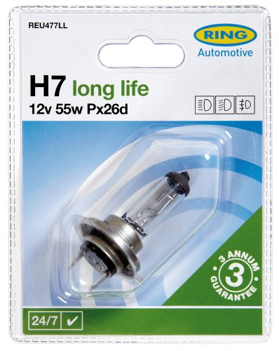 Ring Lampe 12 V REU477LL H7 Long Life