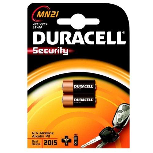 KIT 2 PIECES Duracell Alkaline STILO SECURITY MN21 LRV08 BATTERIEN 203.969