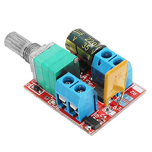 Módulo electrónico Interruptor regulador de la velocidad 5V-30V DC Mini eléctrico de control del motor LED Dimmer Módulo 3Pcs Equipo electrónico de alta precisión