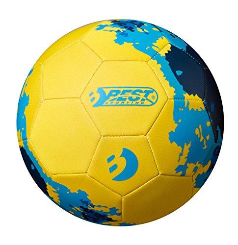 Best Sporting Neopren Fußball, Verschiedene Farbausführungen (gelb/blau)