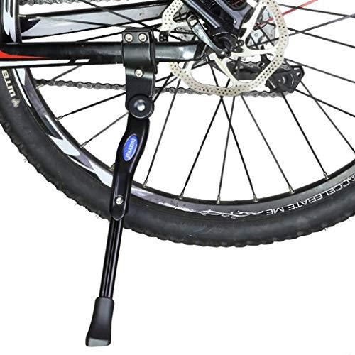 MBZL Heavy Duty Bike Kickstand aluminiumlegering verstelbare fietszijde kickstand voor fiets 22 inch - 28 inch mountainbike-fiets cyclus Prop stoot-standplaats rubberen voet