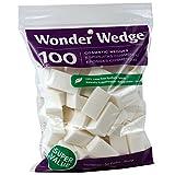Wonder Cosmetic Wedge, 100 Count, Pack of 3