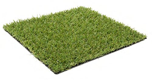 Kunstrasen Ibiza / 20 mm 1.350 g/m² / Rasenteppich | strapazierfähig, langlebig und pflegeleicht | Indoor wie Outdoor | Garten Terrasse Balkon Camping, Farbe:Grün, Größe:200 x 400 cm