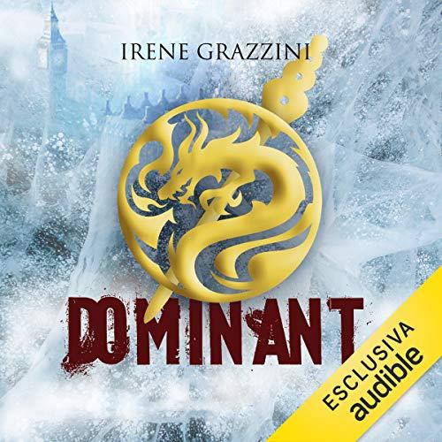Dominant audiobook cover art