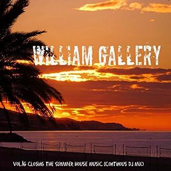 Vol. 16 Closing The Summer House Music (Continous Dj Mix)