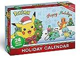 Pokemon Figuren Adventskalender 2020 - 16 PKM Figuren 5cm & 8 Weihnachtszubehör Artikel -...