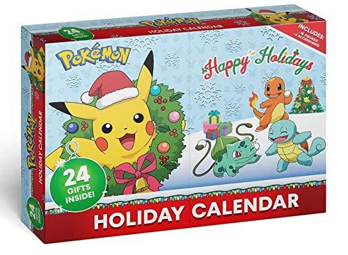Pokemon Figuren Adventskalender 2020 - 16 PKM Figuren 5cm & 8 Weihnachtszubehör Artikel - Weinachts-Kalender NEU & OVP
