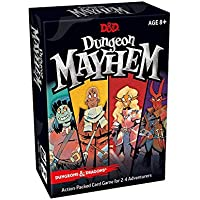 Dungeons and Dragons Mayhem Card Game (2-4 Players, 120 Cards)