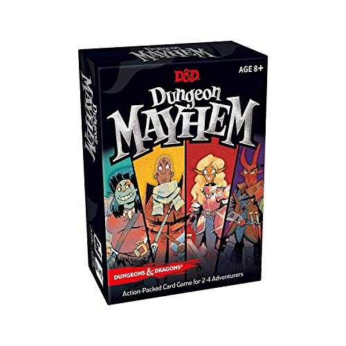 Avalon Hill 630509785148 Dungeons & Dragons: Dungeon Mayhem, Multicolor