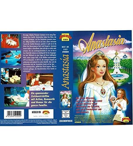 Anastasia - Zeichentrickfilm - VHS-Einleger A4 - ohne Cassette/Hülle